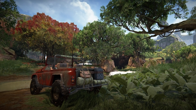 Vehicle in Uncharted: The Lost Legacy.
