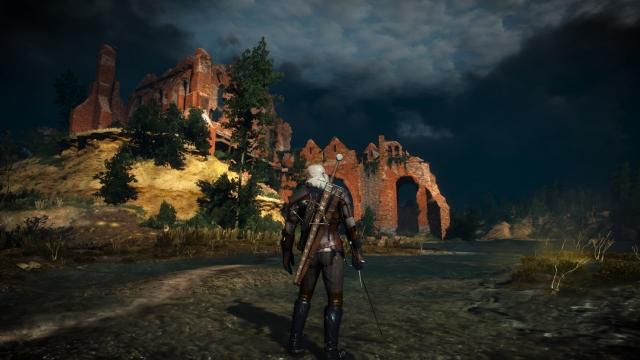 Witcher 3 on Xbox One X