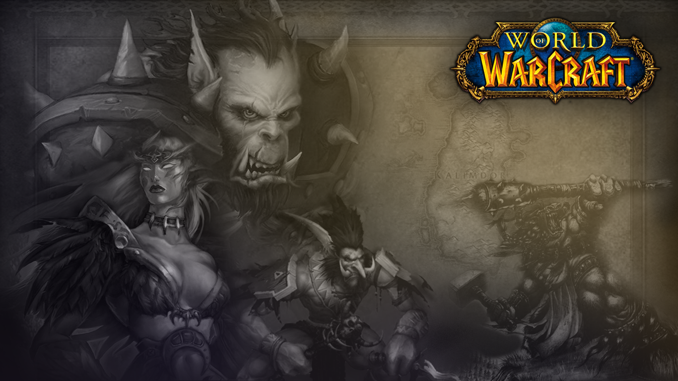 Vanilla WoW loading screen - Kalimdor